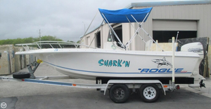 Used Rogue 21 Center Console Fishing Boat For Sale