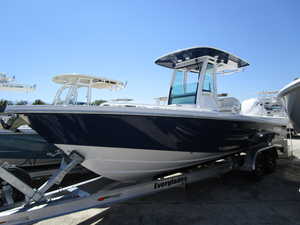 New Everglades Boats 253cc Center Console Fishing Boat For Sale