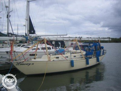 Used Whitby Boat Works 37 Yawl Sailboat For Sale