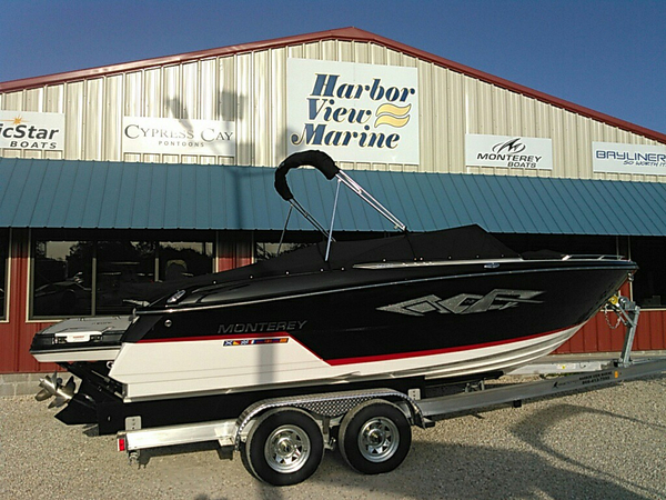 New Monterey 238SS Ski and Wakeboard Boat For Sale