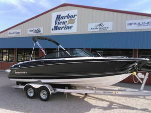 New Monterey 224FS Ski and Wakeboard Boat For Sale