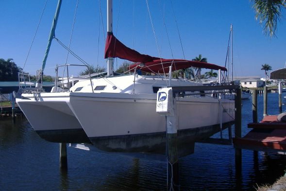 Used Endeavour Catamaran Inc Endeavourcat 30 Catamaran Sailboat For Sale