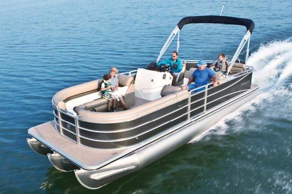 New Cypress Cay Pontoons Seabreeze 253Seabreeze 253 Pontoon Boat For Sale