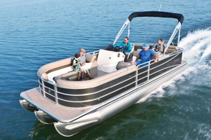 New Cypress Cay Pontoons Seabreeze 253 Pontoon Boat For Sale