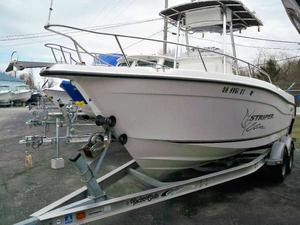 Used Striper 2101 CC Center Console Fishing Boat For Sale