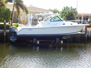 Used Pursuit 315 OS Offshore Express Cruiser Boat For Sale
