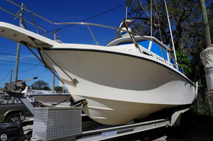 Used Parker Marine 2520 DV Pilothouse Boat For Sale