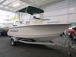 Used Trophy 1903 Center Console Saltwater Fishing Boat For Sale