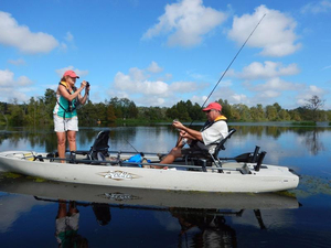 Used Hobie Cat Select Model Kayak Boat For Sale