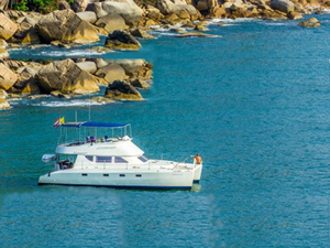 Used Albatross Andaman Cabriolet Catamaran Boat For Sale