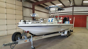 Used Champion Boats 2310 Walkaround Fishing Boat For Sale