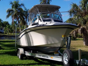 Used Grady White Seafarer 22 Deck Boat For Sale