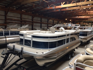 New Bennington 21SLX TriToon Pontoon Boat For Sale
