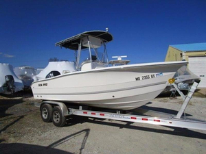 Used Sea Pro 206 CC Center Console Fishing Boat For Sale