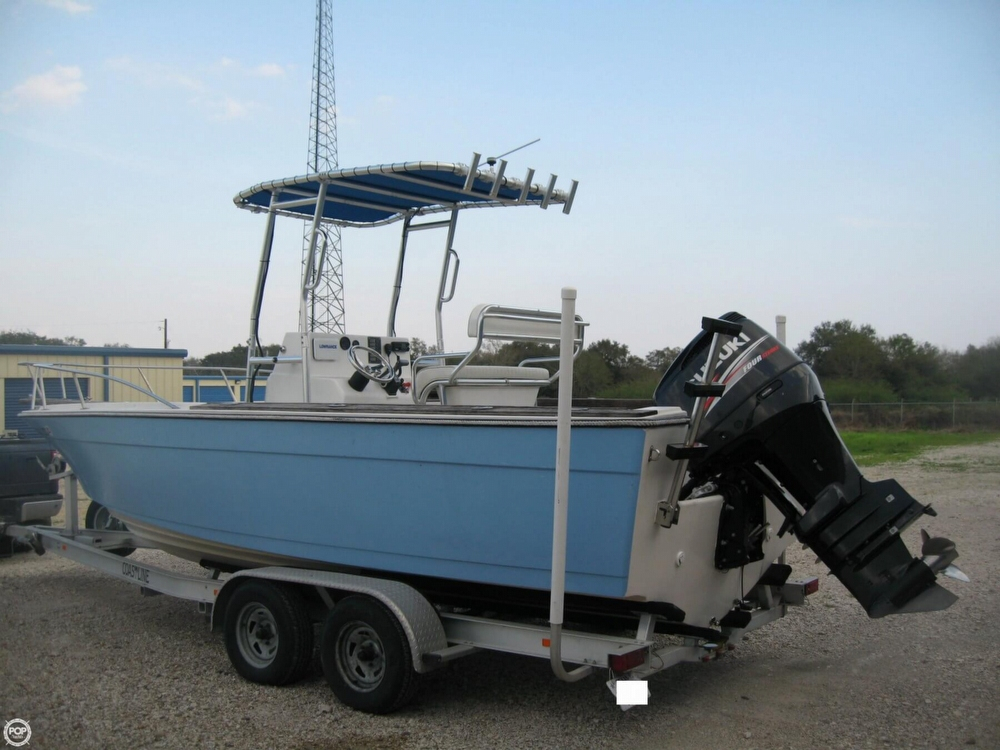 1982 used robalo 2320 center console fishing boat for sale for Fishing boats for sale in texas