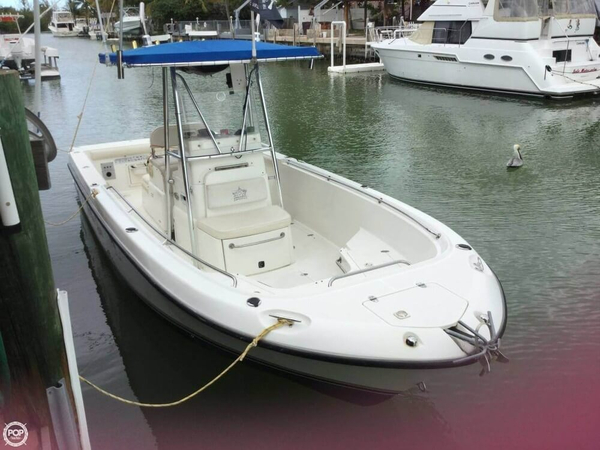 Used Shamrock 246 Open Center Console Fishing Boat For Sale