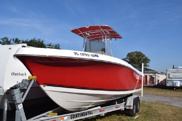 Used Clearwater Center Console Fishing Boat For Sale