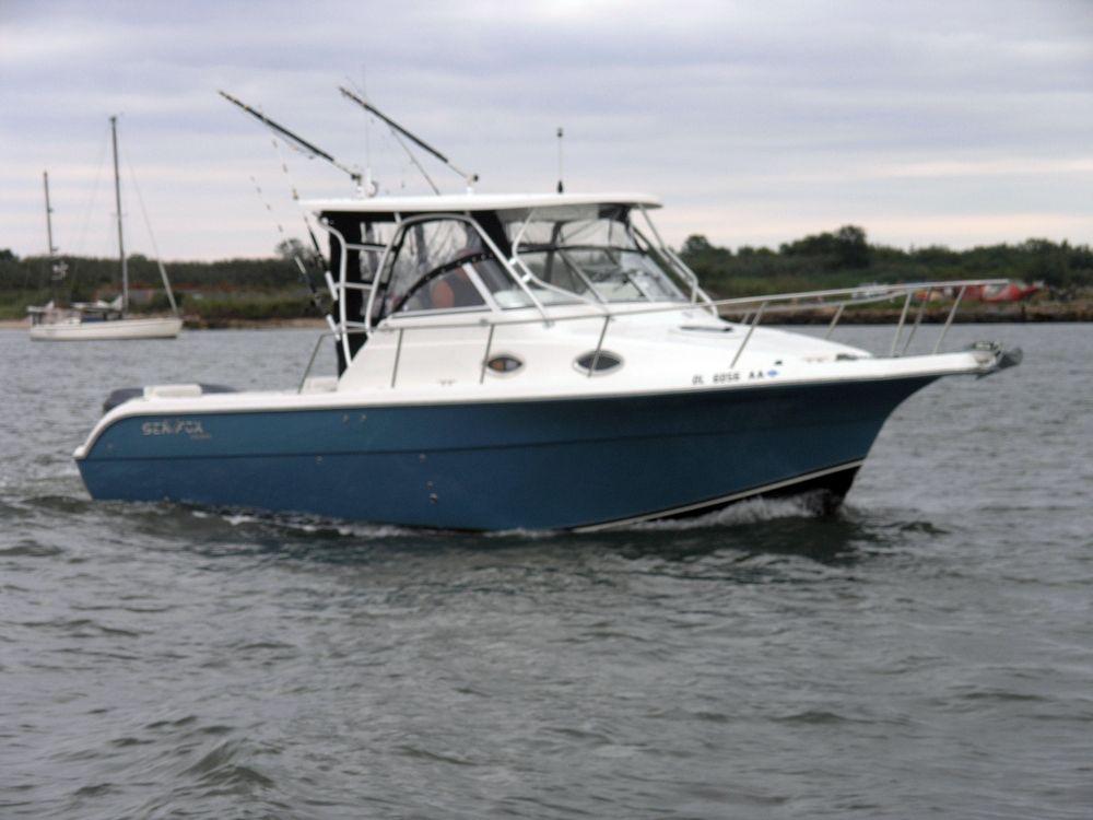 2007 used sea fox 287 wa lkaround fishing boat for sale for Sea fishing boats