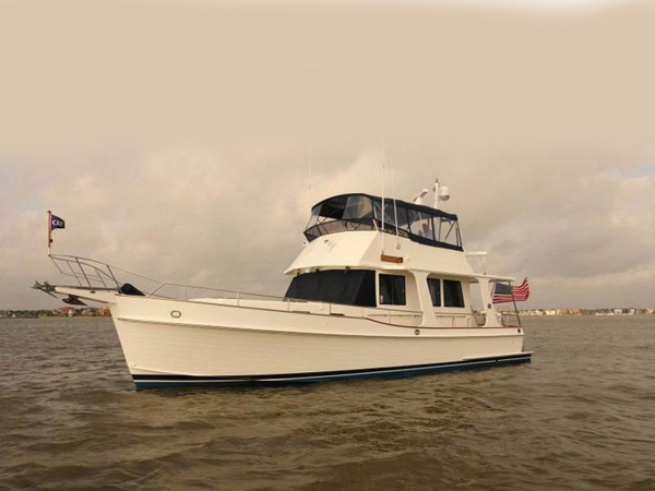 Used Grand Banks 47 Heritage Flybridge Boat For Sale