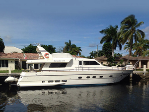 Used Canados 60 Flybridge Boat For Sale