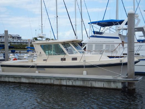 Used Albin 31 Tournament Express Trawler Boat For Sale