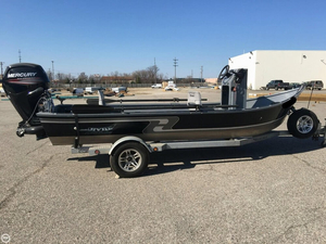 Used Hyde Drift Power Drifter Aluminum Fishing Boat For Sale