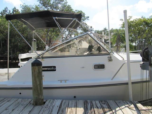 Used Shamrock 260 Express Cruiser Boat For Sale