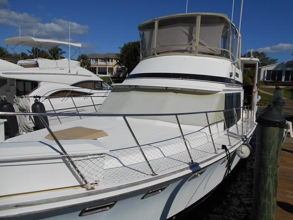 Used Marine Trader Tradewinds 43 Trawler Boat For Sale