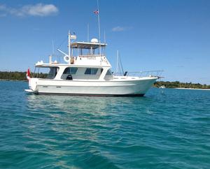 Used Bruce Roberts Custom Trawler Boat For Sale
