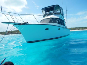Used President 37 Sedan Saltwater Fishing Boat For Sale