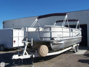 Used Landau Elite 251 Pontoon Boat For Sale
