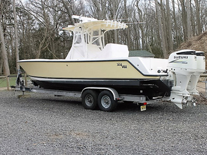 Used Sea Vee Fishing Center Console Fishing Boat For Sale
