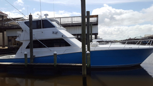 Used Viking Enclosed Bridge Sports Fishing Boat For Sale