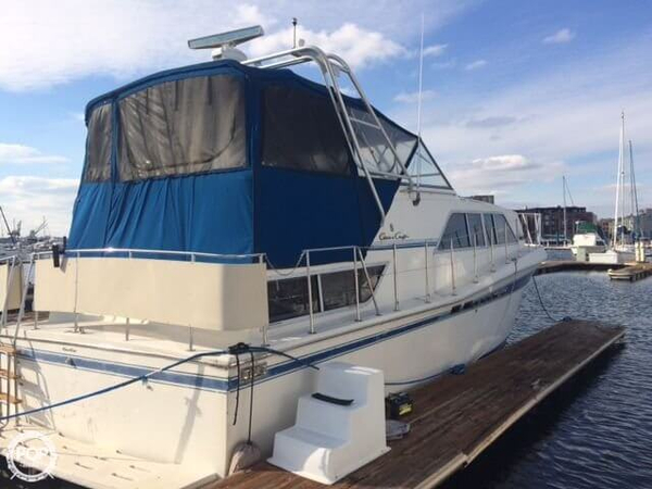Used Chris-Craft Catalina 381 Cruiser Boat For Sale