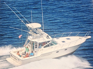 Used Tiara 3700 Open with Tower Cruiser Boat For Sale