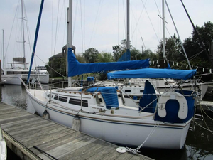 Used Catalina 27 Tall Rig Sloop Sailboat For Sale