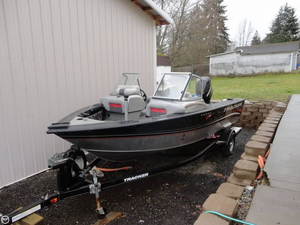 Used Tracker Targa V18 Aluminum Fishing Boat For Sale