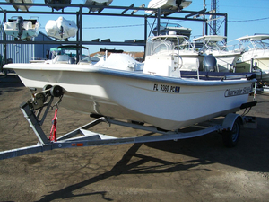 Used Clearwater 170DL Skiff Boat For Sale