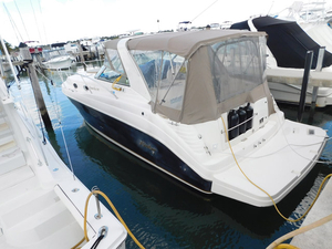 Used Rinker 34 fiesta vee Cruiser Boat For Sale