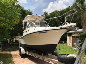 Used Shamrock EXPRESS 260 Walkaround Fishing Boat For Sale