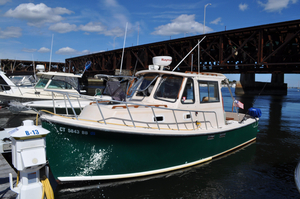 Used Atlas Acadia 25 Downeast Fishing Boat For Sale