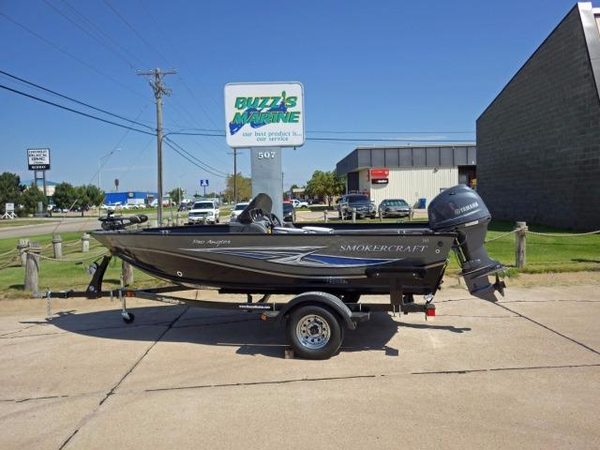 Used Smoker Craft 161 Pro Angler Freshwater Fishing Boat For Sale
