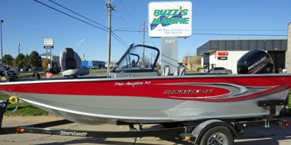 New Smoker Craft 182 Pro Angler XL Aluminum Fishing Boat For Sale