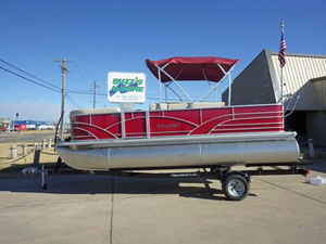 New Sylvan 820 Mirage Cruise N Fish Pontoon Boat For Sale