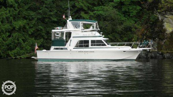 Used Uniflite 41 Yacht Fisherman Sports Fishing Boat For Sale