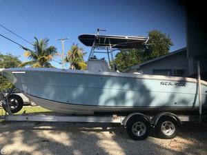 Used Sea Fox 257CC Center Console Fishing Boat For Sale
