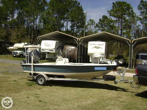 Used Hewes Redfisher 16 Flats Fishing Boat For Sale