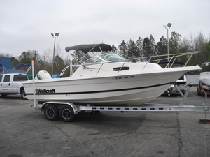 Used Wellcraft 22 Walkaround Fishing Boat For Sale