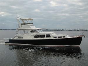 Used Huckins Atlantic 44 Flybridge Boat For Sale