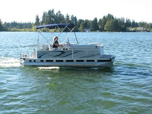 Used Qwest Edge LS 18 Catamaran Boat For Sale